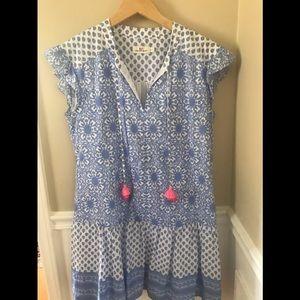 Vineyard Vines Medallion Tunic Dress Small Perfect